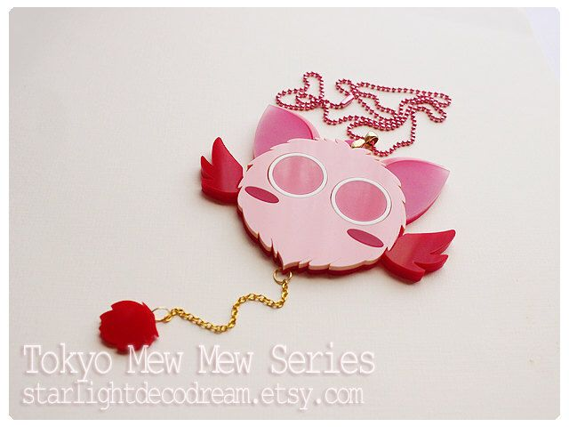 MADE to ORDER MASHA Tokyo Mew Mew Inspired Acrylic Necklace for Mahou Kei, Magical Girl Fashion by StarlightDecoDream on Etsy https://www.etsy.com/listing/208181171/made-to-order-masha-tokyo-mew-mew