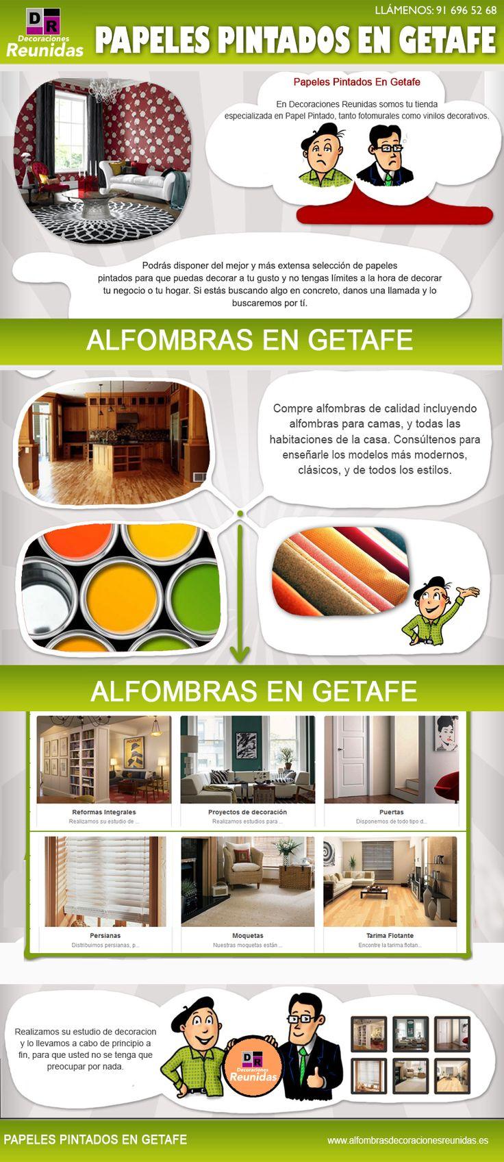 La belleza de alfombras en getafe es evidente en la abrumadora selección de estilos, los patrones y colores en el que se ofrece. Antes de optar por utilizar un estilo particular que usted debe considerar cuánto recibirán las áreas a ser alfombradas y si usted será capaz de mantener limpia la alfombra. Navegar por este sitio http://alfombrasdecoracionesreunidas.es/portfolio-item/alfombras/ para obtener más información sobre alfombras en getafe.