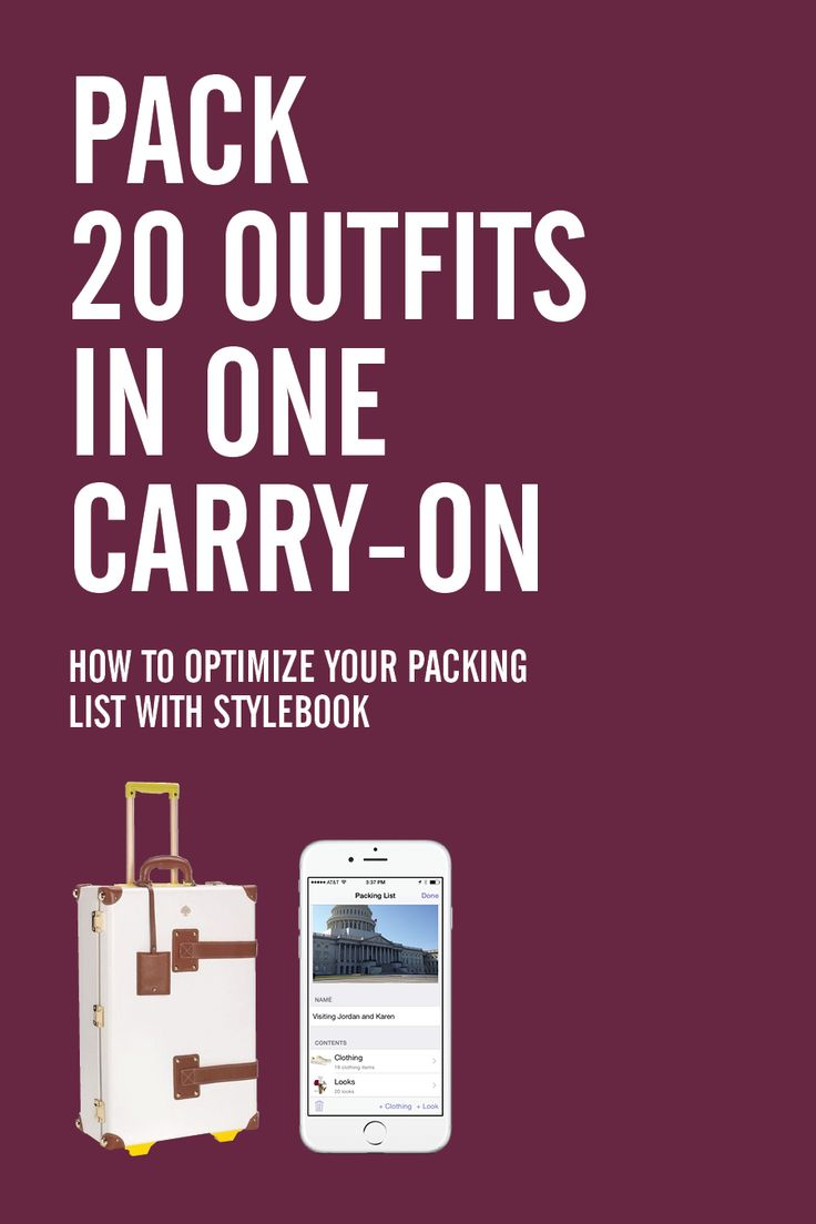 How to optimize your packing lists with Stylebook