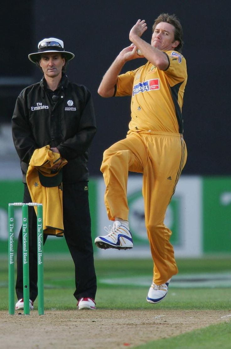 No bowler matches to the legendary fast bowler Glenn McGrath!