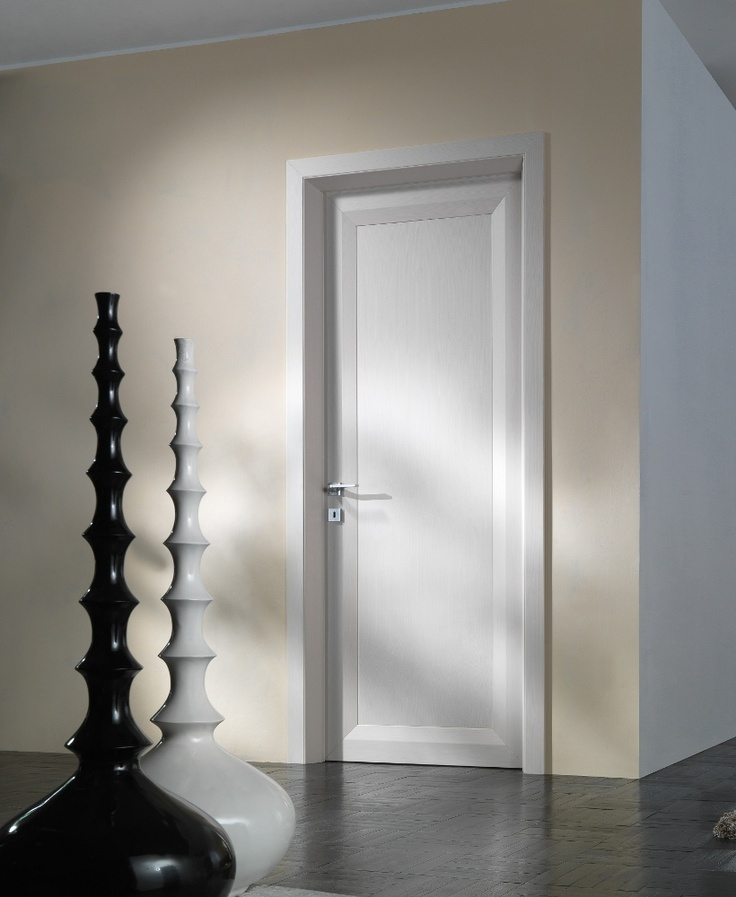 quadro interior door with a 44 mm thick blockboard door frame and mechanical