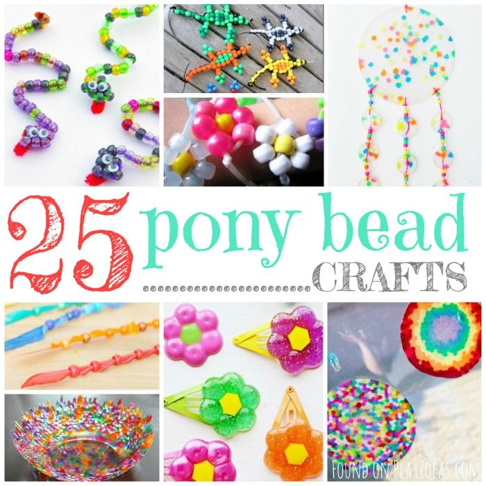 pony bead crafts for adults