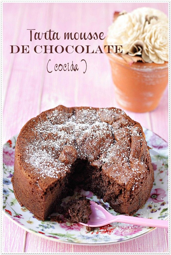 Tarta Mousse de Chocolate  Recetas Sin Azúcar | El blog sin azúcar