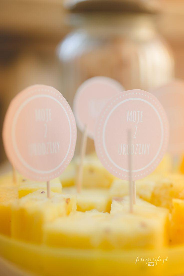 Przyjęcie urodzinowe 2 urodziny Groszki