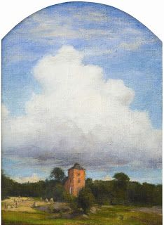 Prince Eugen, Church with Cloud, c. 1890s Oil on canvas, 16 x 11 inches; 40 x 28 cm