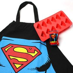 Superman Gift Pack for the super man in your life! I just want the ice cube tray...