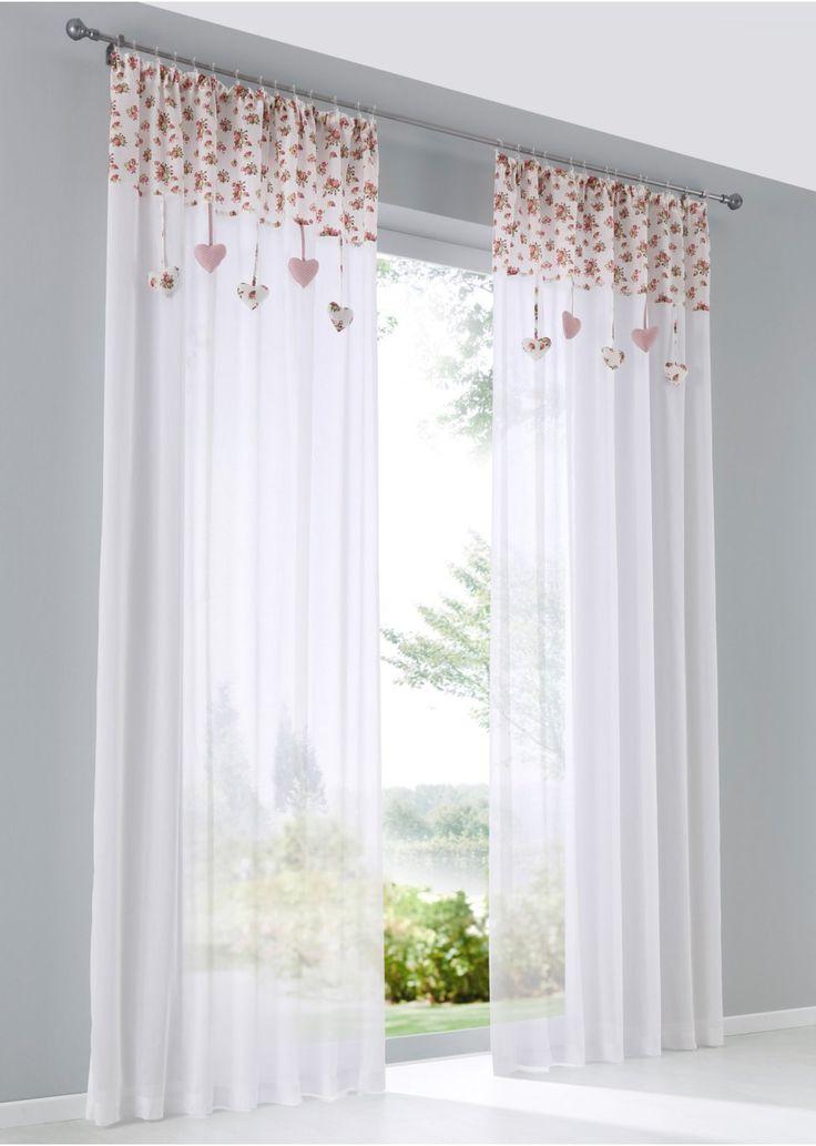 Die besten 25+ Halbtransparente gardinen Ideen auf Pinterest - gardinen modern wohnzimmer schwarz weis