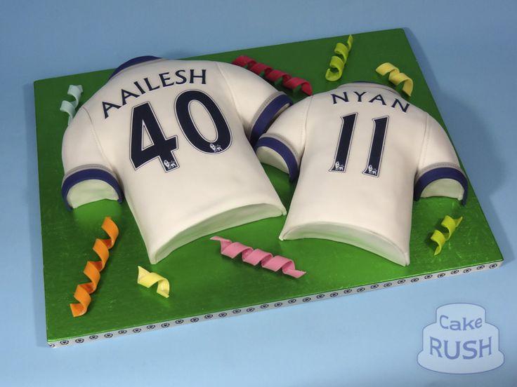 Spurs Shirts cake