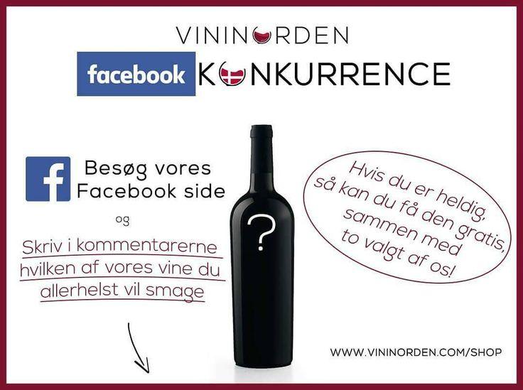If you live in Denmark check out our competition on our Facebook page you might win 3 free wine bottles!  @vininorden  #rødvin #hvidvin #rosévin #vindruer #vinbar #godvin #hygge #vinglas #vingård #københavn #aarhus #odense #aalborg #tw #pin #konkurranse #blog #win #vincit #præmie #gave #denmark #den #dk #danish #dansk #facebookpage #wineblog #followus
