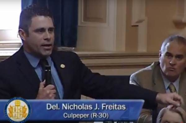 A Speech by Virginia Delegate Nick Freitas, the liberty-minded conservative who is challenging Senator Tim Kaine, discussing the importance of the Second Amendment has been viewed over five million times in the past 24 hours. Friday's speech by Freitas before the Virginia House of Delegates lead to many Democrats actually walking out and demanding a …