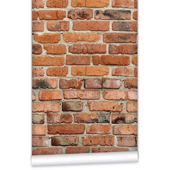 Camden Factory Brick Wallpaper