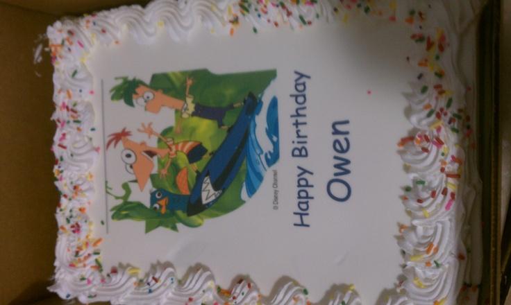 cake with optional edible image
