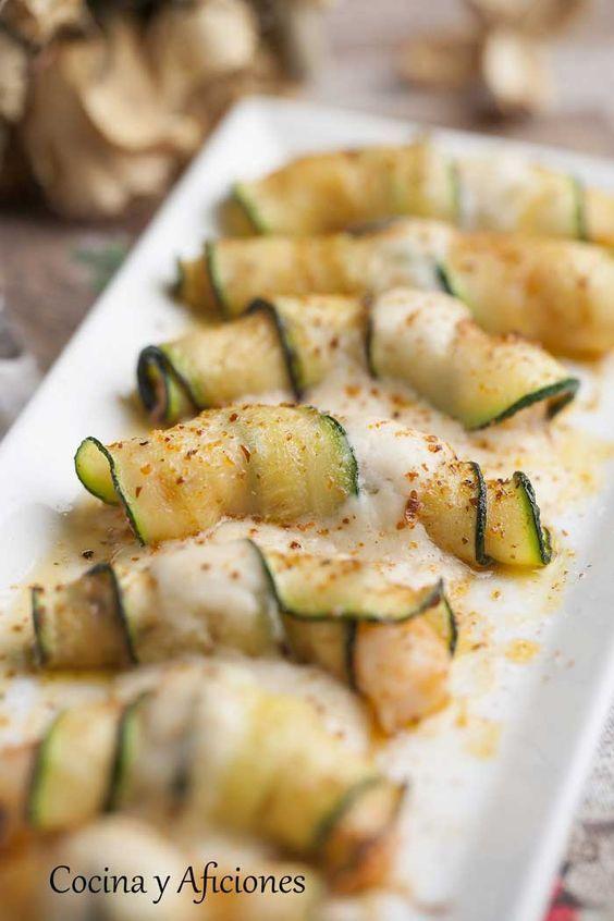 Raviolis de langostino y calabacín, receta para quedar de lujo. | Cocina y Aficiones