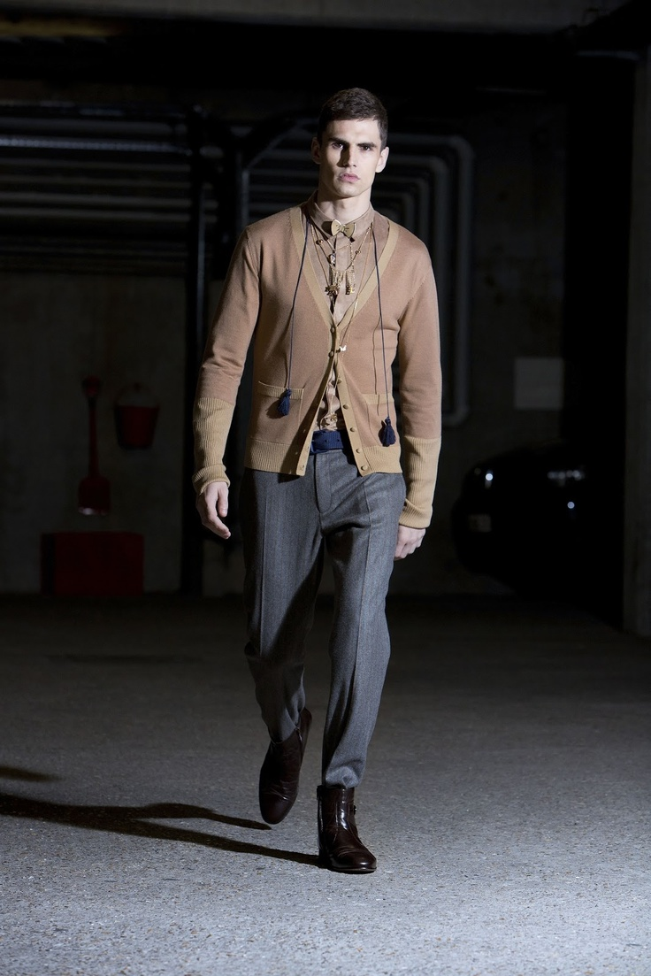 Alexis Mabille men's collection Autumn-Winter 2013 / 2014