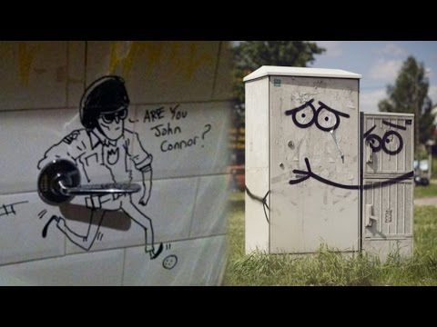 60 Hilarious Acts of Vandalism - YouTube