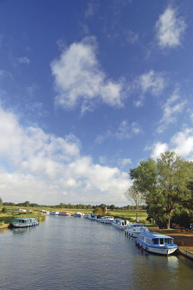 The peaceful Norfolk Broads