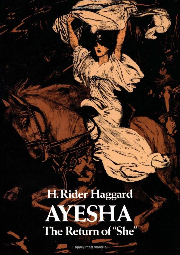 "Amazon.com: Ayesha: The Return of ""She"" (9780486236490): H. Rider Haggard: Books:"