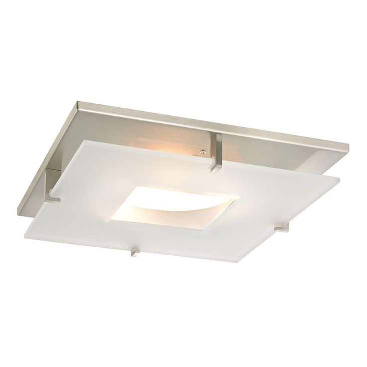 fits over existing opening Contemporary Square Decorative Recessed Lighting Ceiling Trim | 10846-09 | Destination Lighting