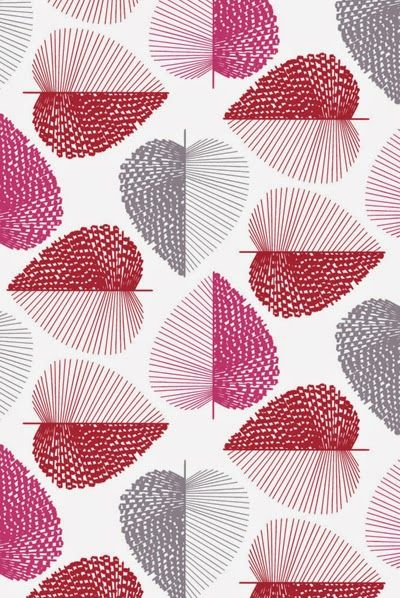 print & pattern: HABITAT - wallpaper