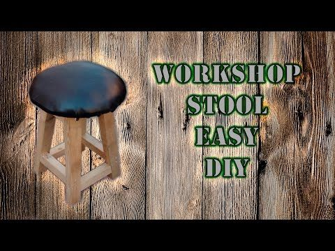 Workshop stool DIY - YouTube