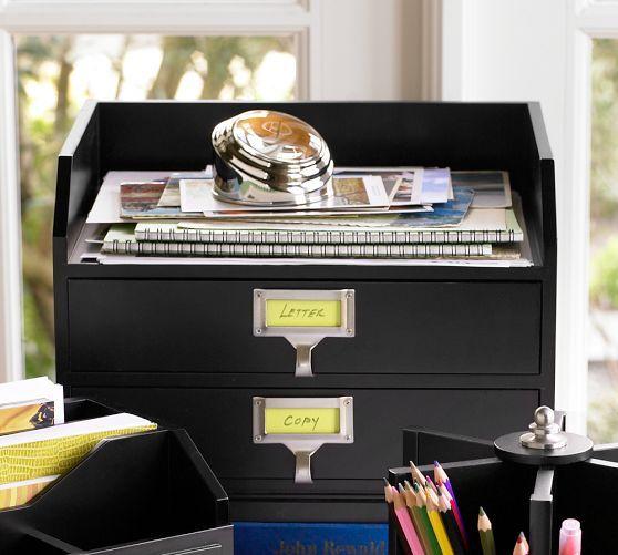 Bedford lazy susan antique white - Lazy susan desk organizer ...