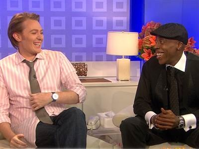 I <3 Clay Aiken and Arsenio Hall on Celebrity Apprentice! I'm #TeamClay though.