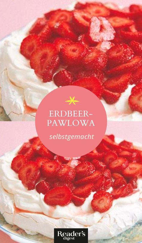 Erdbeer-Pawlowa