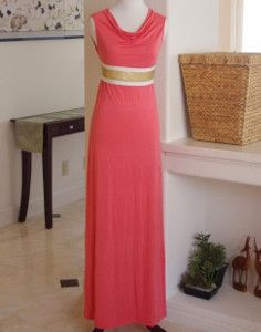 Draped Neck DIY Maxi Dress
