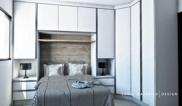 Guarda roupa com cama de casal embutida detalles para el for Detalles para el hogar