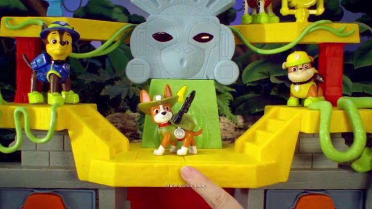 Paw Patrol Monkey Temple Game Play