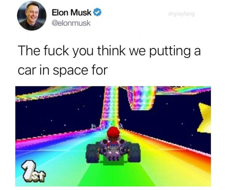 Rainbow road mothafuckas