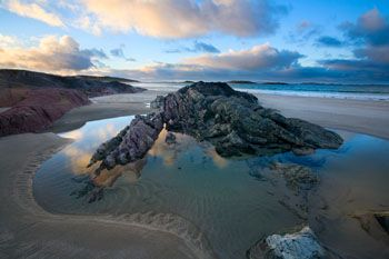 'Glassilaun Beach, Co. Galway, Ireland' from Gareth McCormack ... love the different blues here