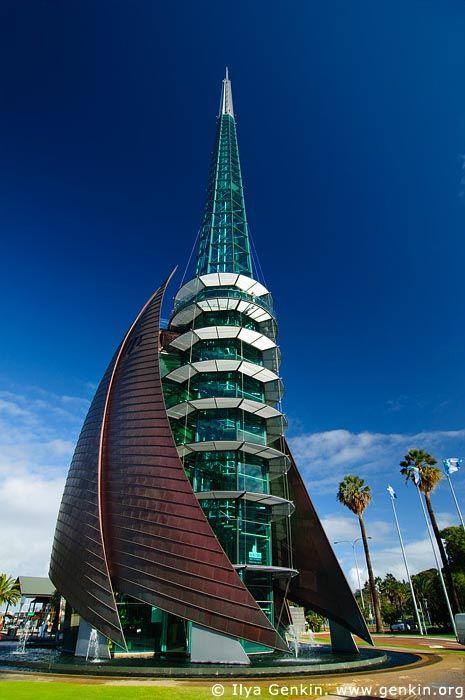 The Swan Bell Tower , Perth, WA, Australia.