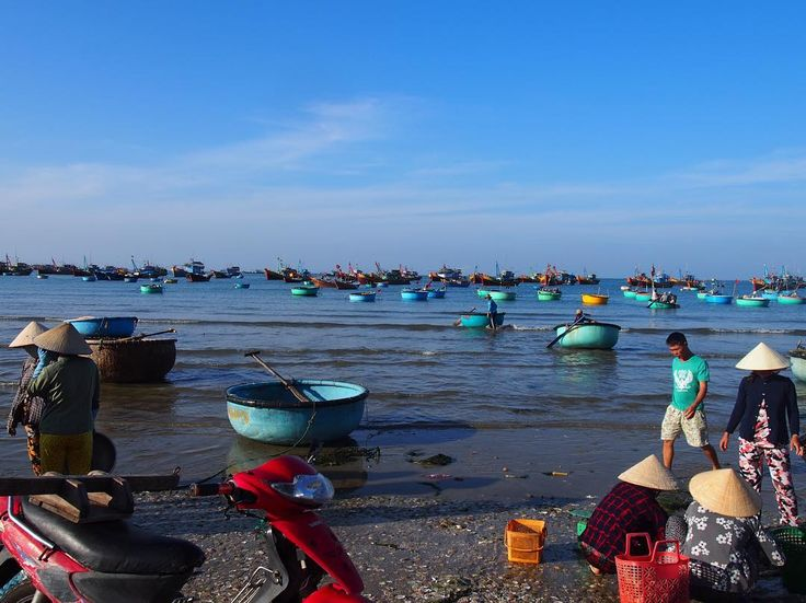 先ほどの絵についての別の風景このオケで海にでるのは危険な気がしますが  実際はどうなのでしょうか  オケで仕事をする人はどんなことをしてるんでしょうか  #taiwa #cocoacana #vietnam #muine #ベトナム #ムイネー #旅 #旅行 #観光 #写真 #海外 #海外生活 #海外旅行 #バックパッカー #漁師 #旅人 #海外暮らし #自分磨き #地球の歩き方 #世界 #海 #コラム #ここあかな
