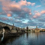 Last sunset in Prague  ---------------------------------------- #prague #czech #discovercz #europe #tlpicks #traveldudes #passionpassport #bbctravel #natgeo #ngtradar #lp #skimbaco #traveldeeper #travelstoke #instatravel #instapassport #travel #traveling #travelling #travelphotography #travelgram #vacation #trip #travelpics #adventure #wanderlust