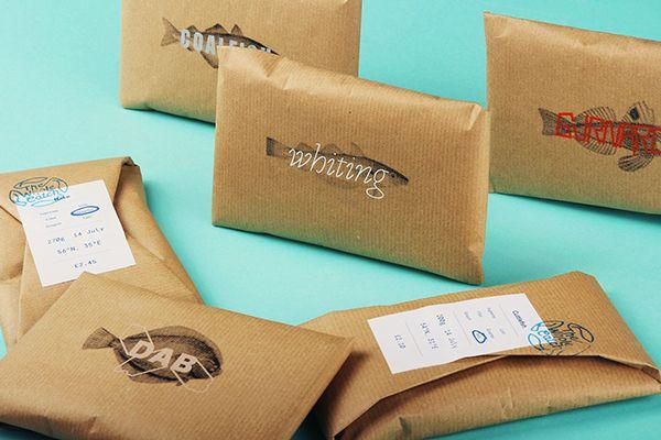 Stunning shop branding smells a bit fishy | Branding | Creative Bloq