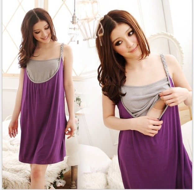 Sleeveless Breast Feeding Maternity Nursing Dresses Gravida Skirt Breastfeeding Clothing Pregnant Women Summer Casual Dress-in Dresses from Mother & Kids on Aliexpress.com | Alibaba Group