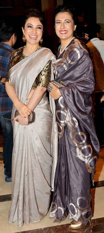 ❀Purva❀ - Tisca Chopra with Mini Mathur at the Lakme Fashion Week Winter/Festive 2014
