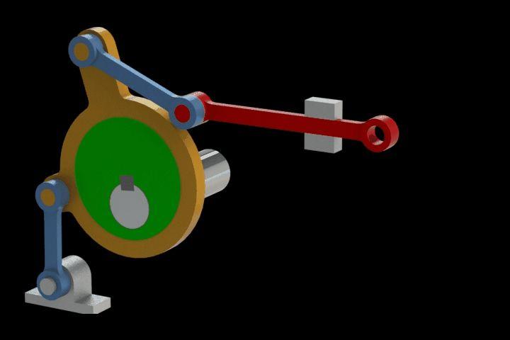 Valve motion eccentric - Parasolid,STEP / IGES,STL,SOLIDWORKS - 3D CAD model - GrabCAD