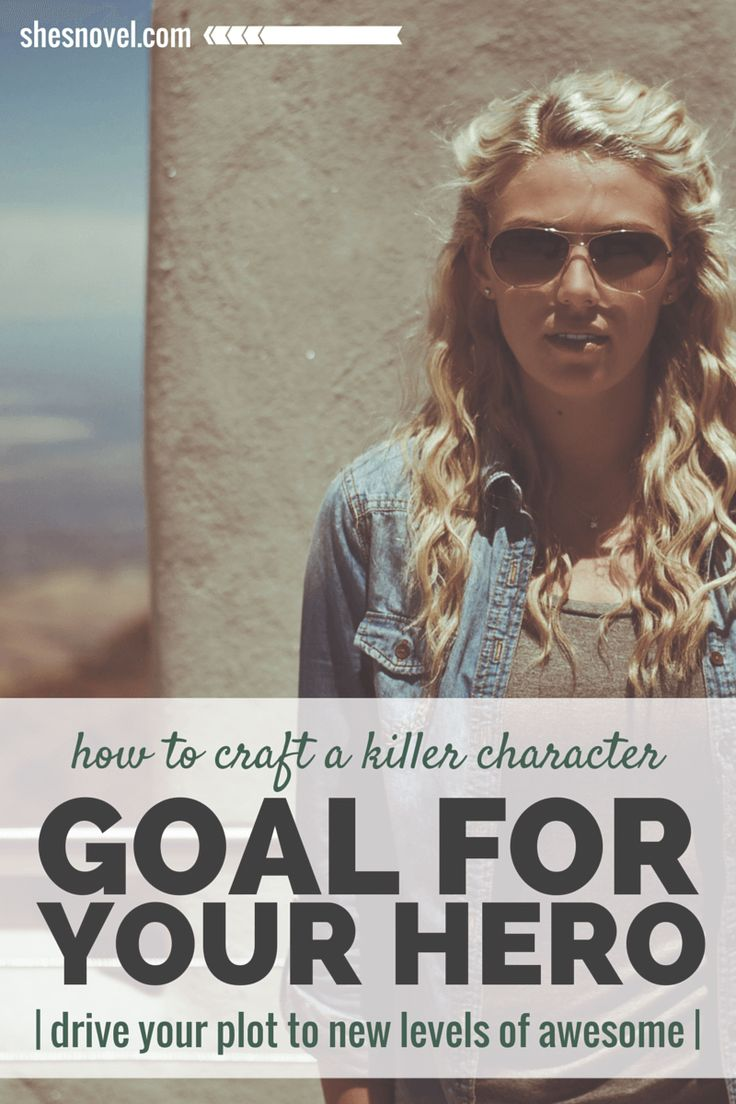"""If you want to create conflict that is both thrilling and purposeful, you must give each of the characters involved a strong goal that gives meaning to their actions."" - How to Craft a Killer Character Goal For Your Hero, by @shesnovel"