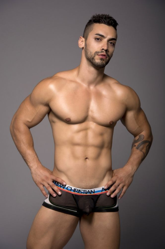 andrew christian models naked