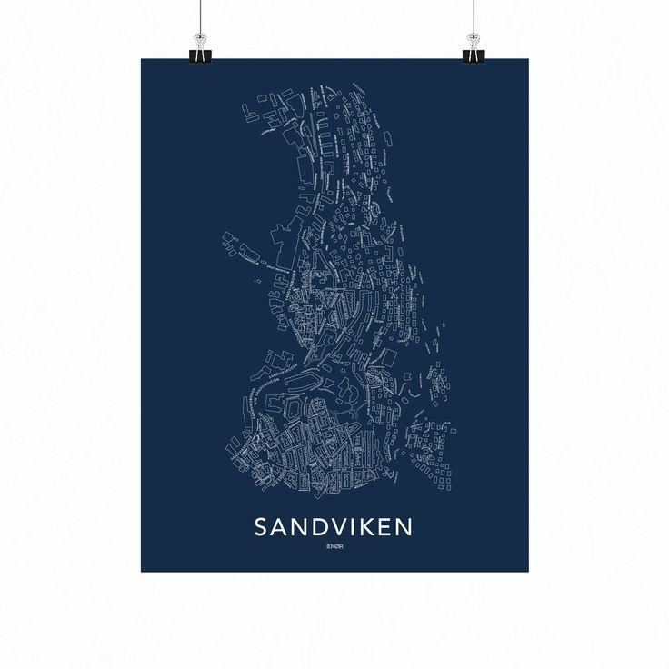 SANDVIKEN PLAKAT | NØR
