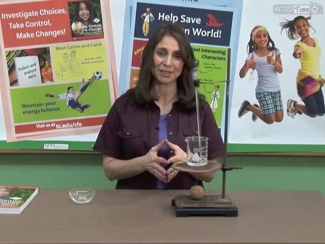 In this demonstration, use a simple calorimeter to measure the amount of energy…