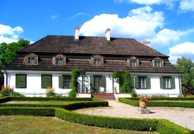 Zdjęcia: Janowiec, Lubelskie, barokowy dworek - ekspozycja wnętrz domu szlacheckiego, POLSKA