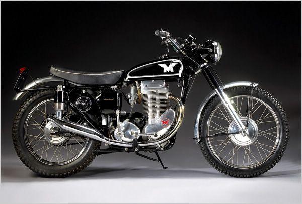 1956 matchless G80CS Classic Vintage motorcycle British motorbike