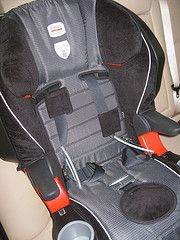 Britax Frontier 85 SICT - Side Impact Protection Technology in a car seat