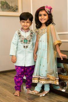 Indian Weddings, Indian Outfits, For Kids, Indian Dresses For Girls, Indian Wedding Fashion, Beautiful Kids, Desi Kids....* #kidswear #weddingfunction  #covaiweddingshoppers