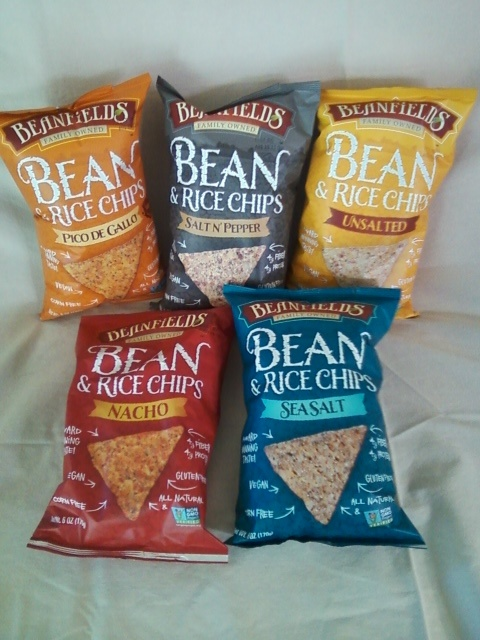 There are so many different kinds of #beanfields chips to snack on!