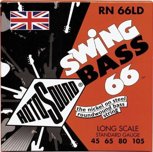 Rotosound RN 66LD Nickel Swing Bass Strings by Rotosound. $23.95. Save 40% Off!