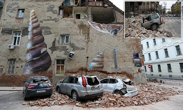 Boy 15 Killed And Dozens Injured After Earthquake Hits Croatia In 2020 Earthquake Croatia Strongest Earthquake
